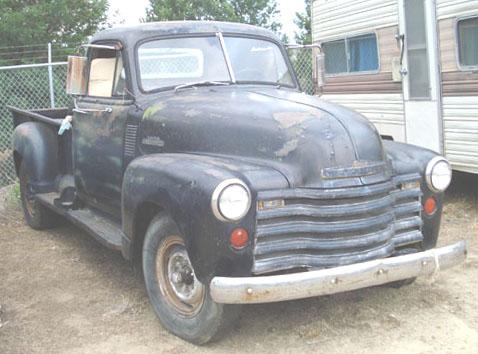 1953 Chevrolet Pickup (1 ton): Lazarus